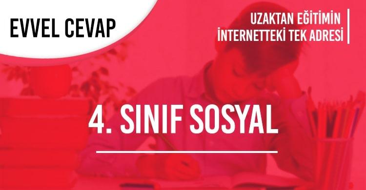 4. Sınıf Sosyal Bilgiler Test Çöz